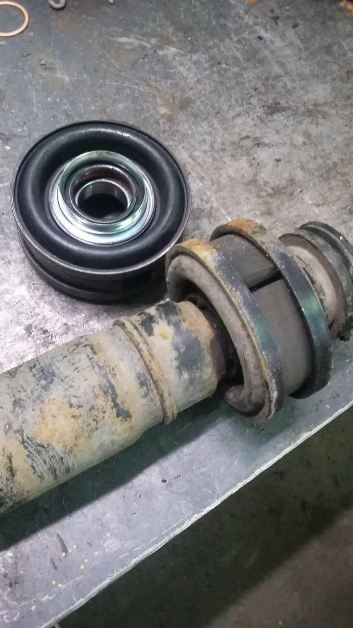 Ремонт 3-х опорного карданного вала Nissan Murano