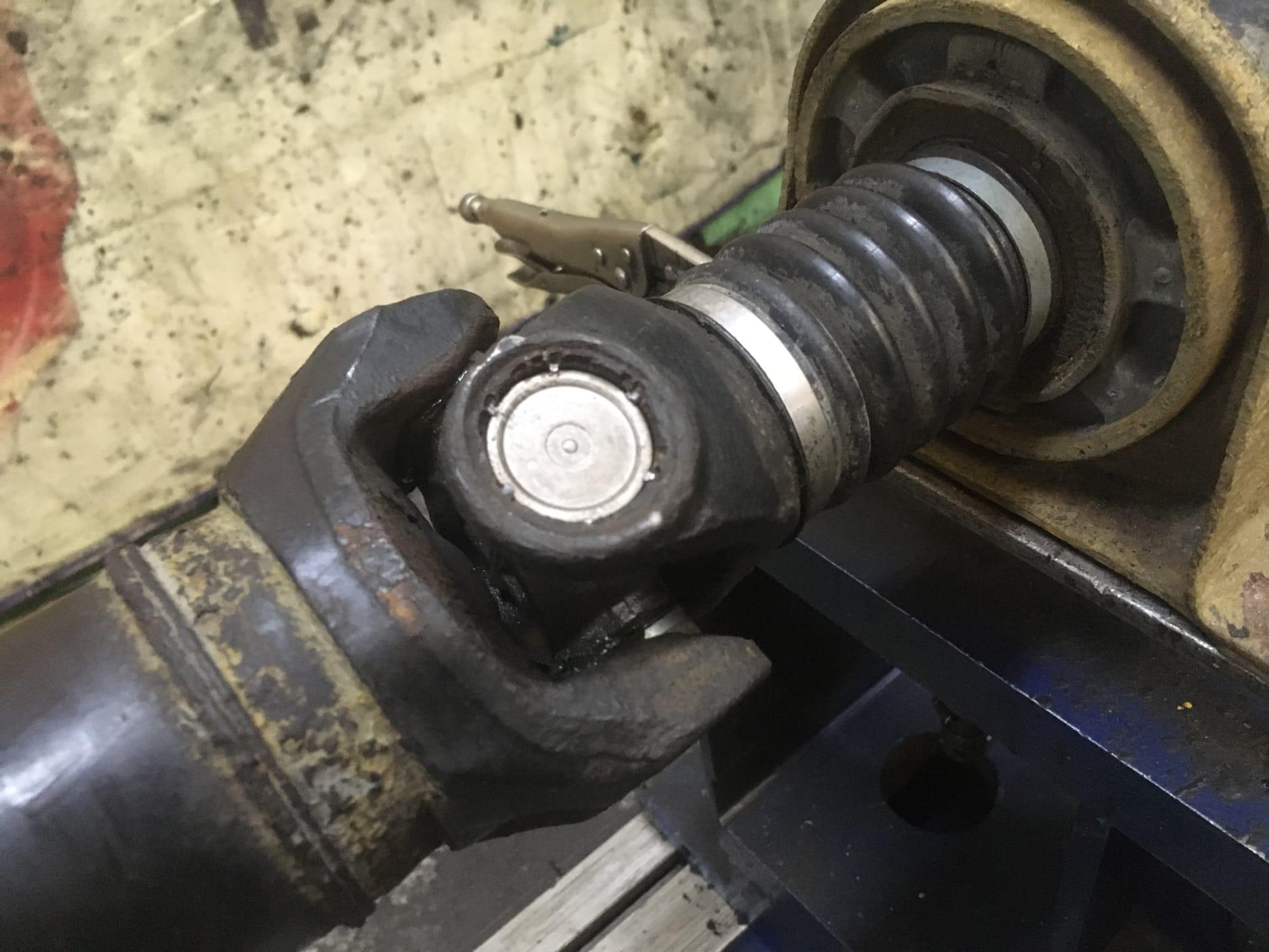 Ремонт и балансировка 4-х опорного кардана Volkswagen Crafter