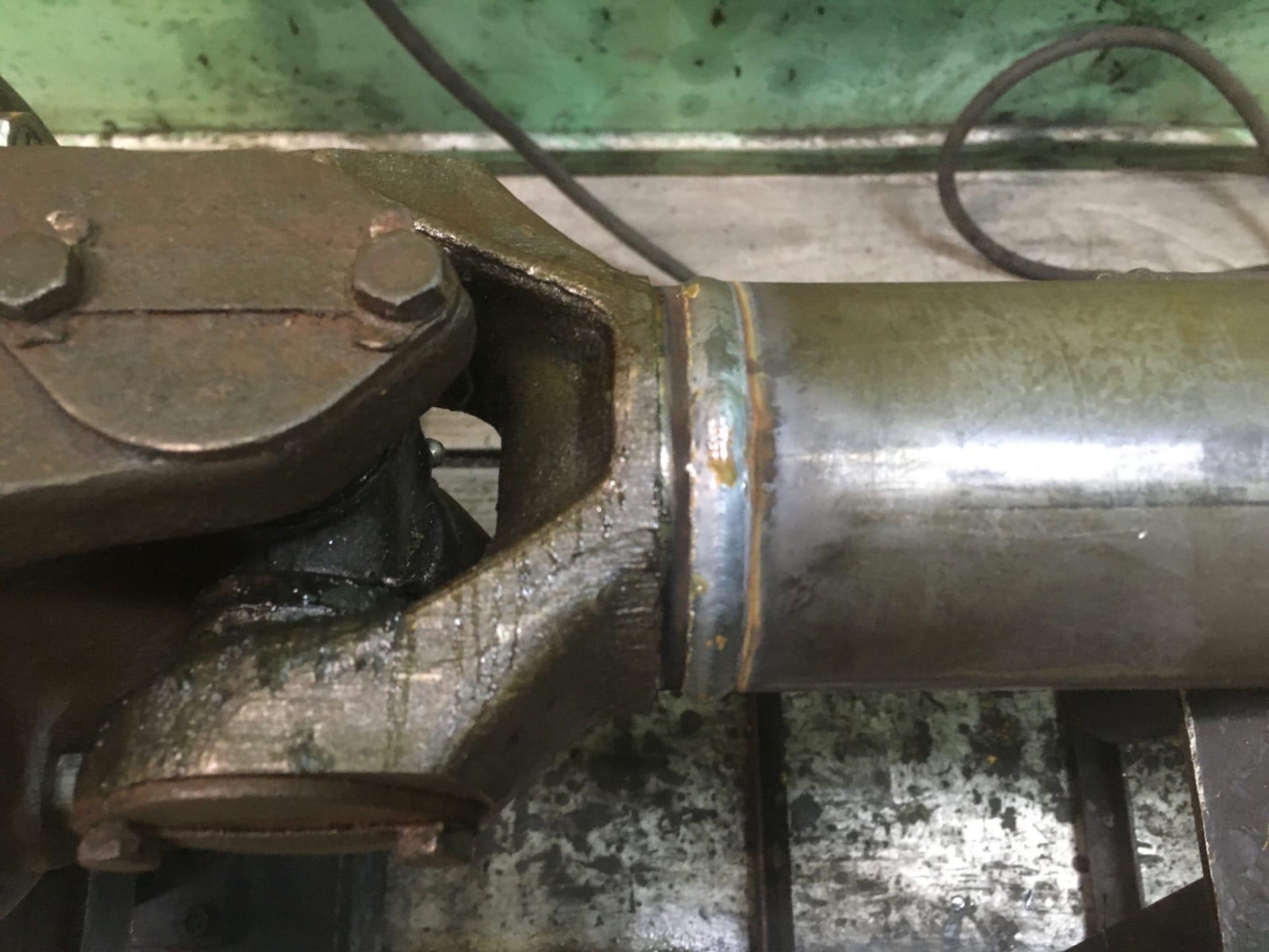 Ремонт 2-х опорного карданного вала буксирно-моторного катера БМК-130