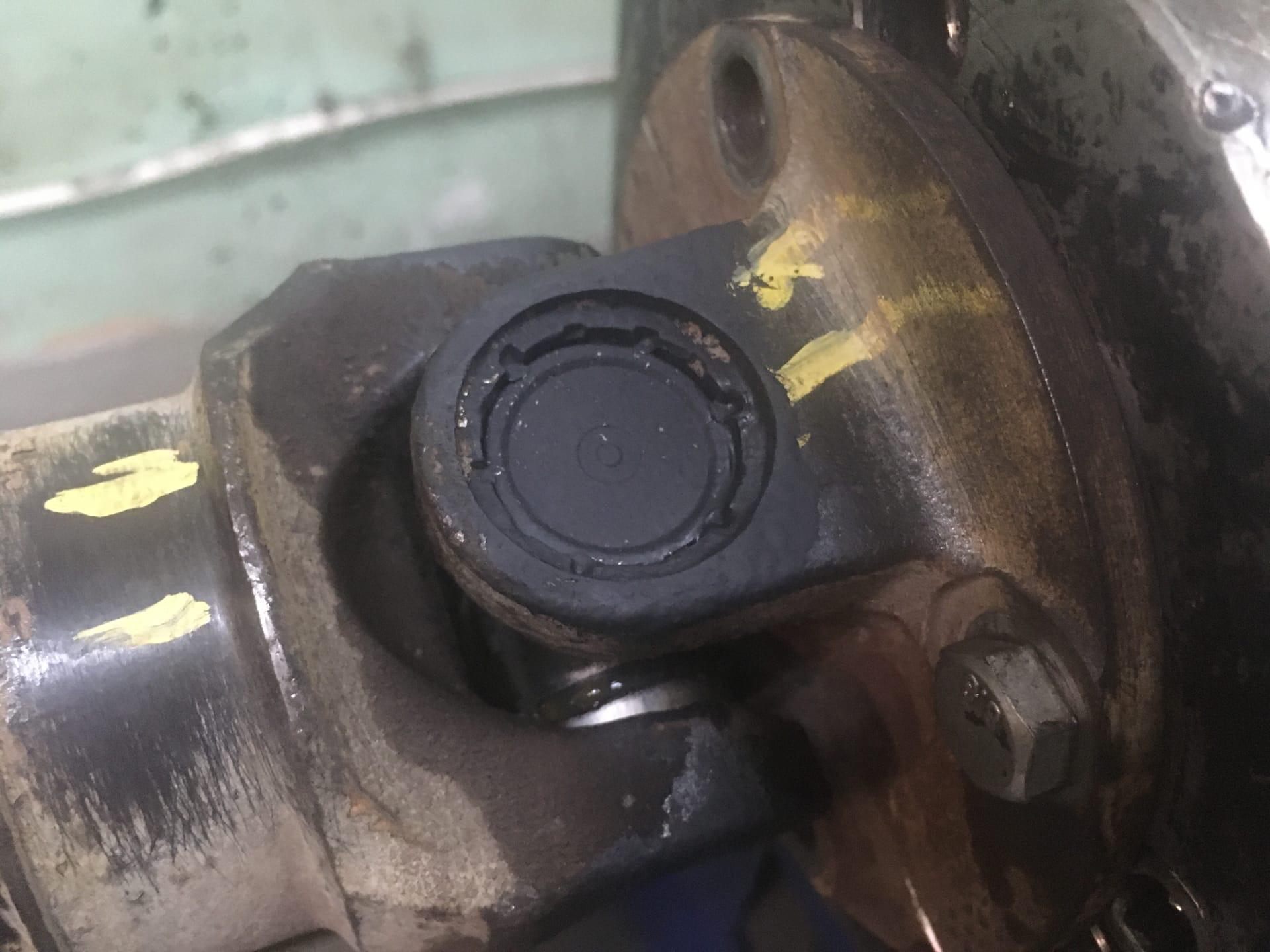 Восстановление 3-х опорного кардана Nissan X-Trail
