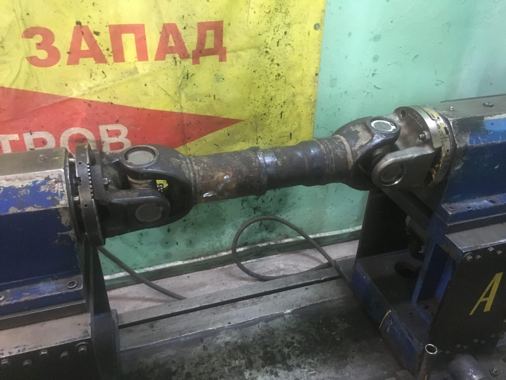 Ремонт 2-х опорного карданного вала автобуса Yutong