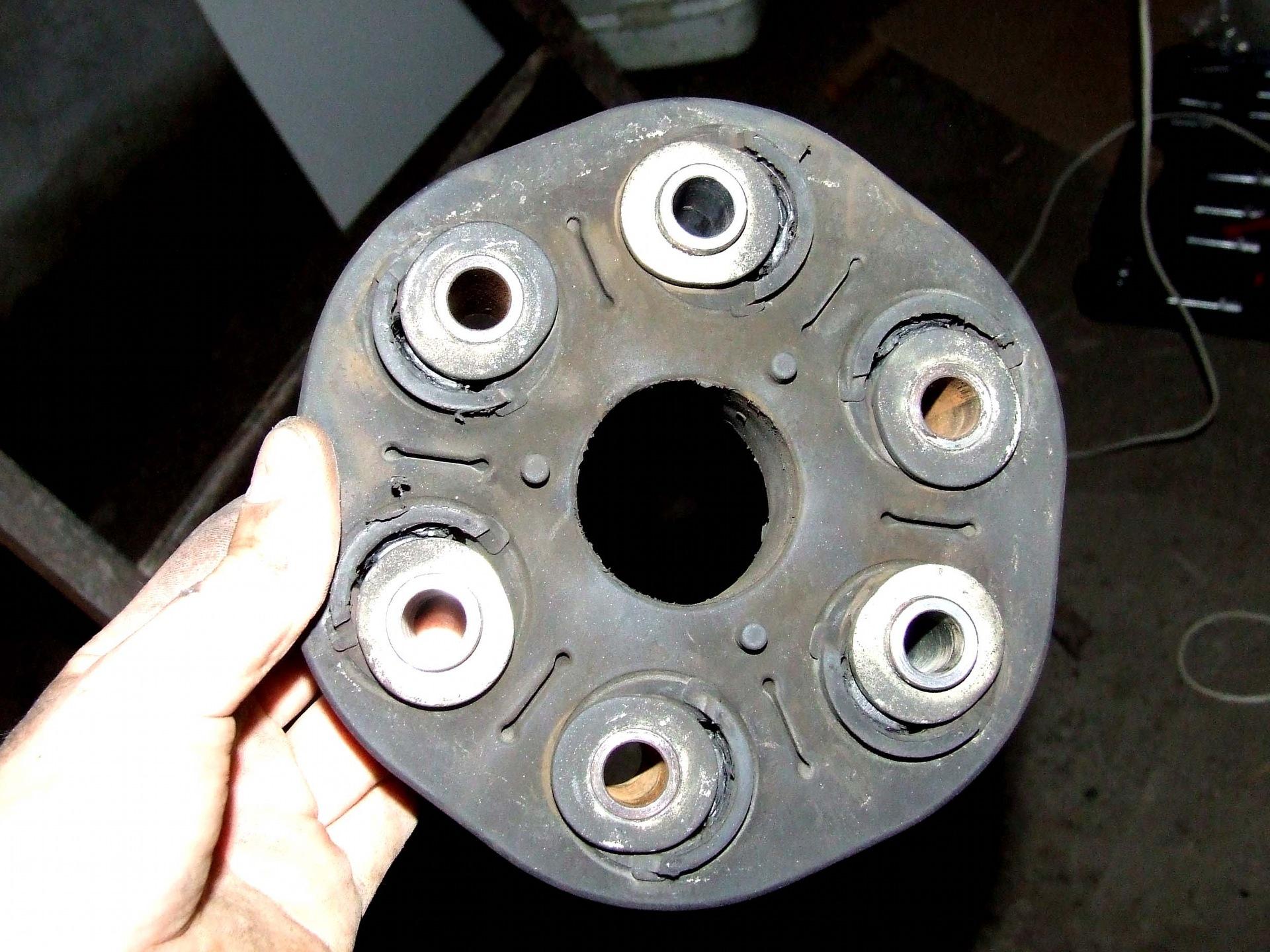 Замена муфты кардана