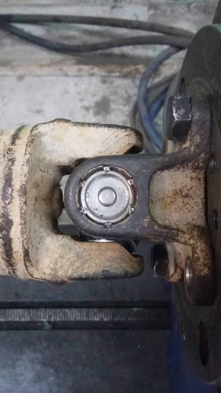 Ремонт 3-х опорного карданного вала Subaru Forester