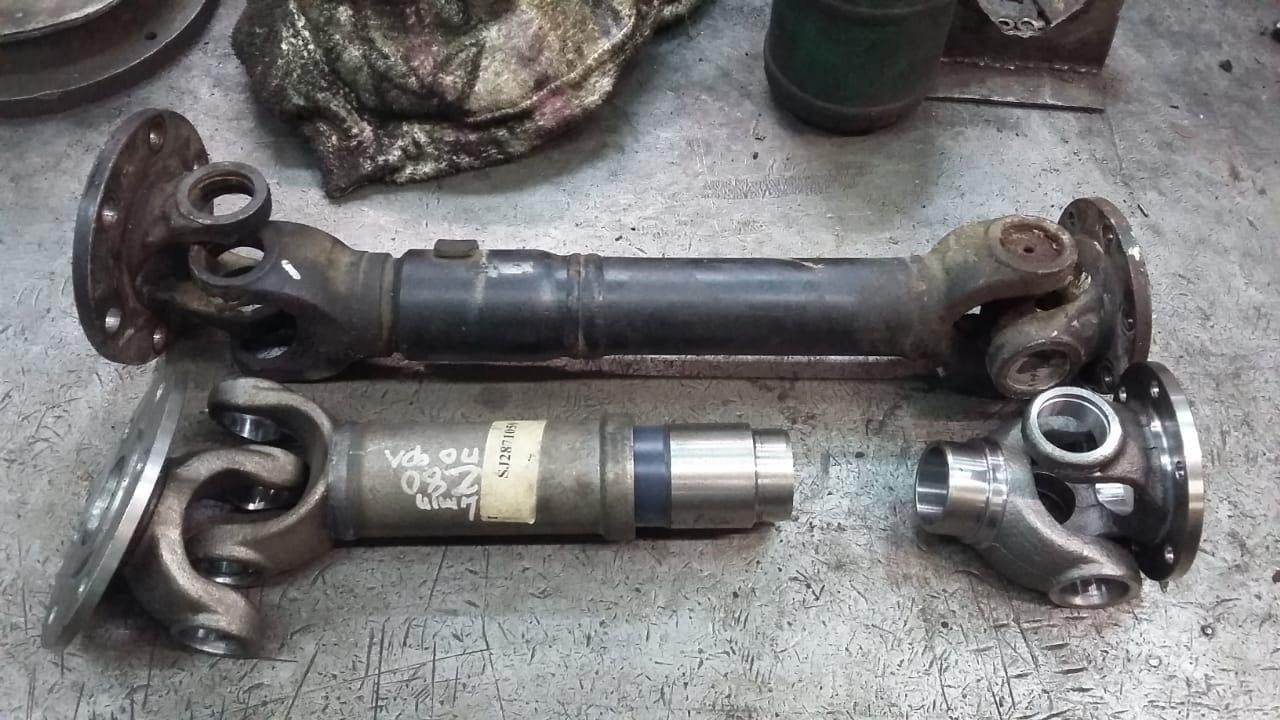 Изготовление 2-х опорного карданного привода насоса автобетоносмесителя MAN по образцу заказчика