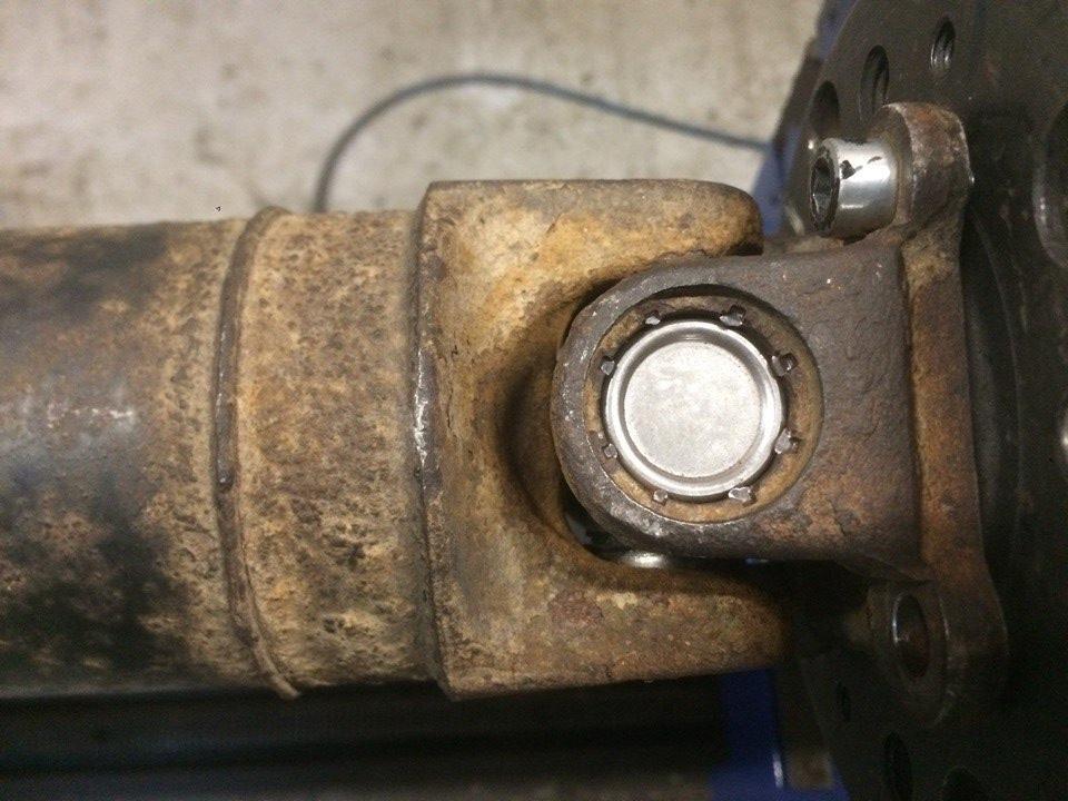 Ремонт карданного вала NISSAN X-TRAIL с заменой узлов